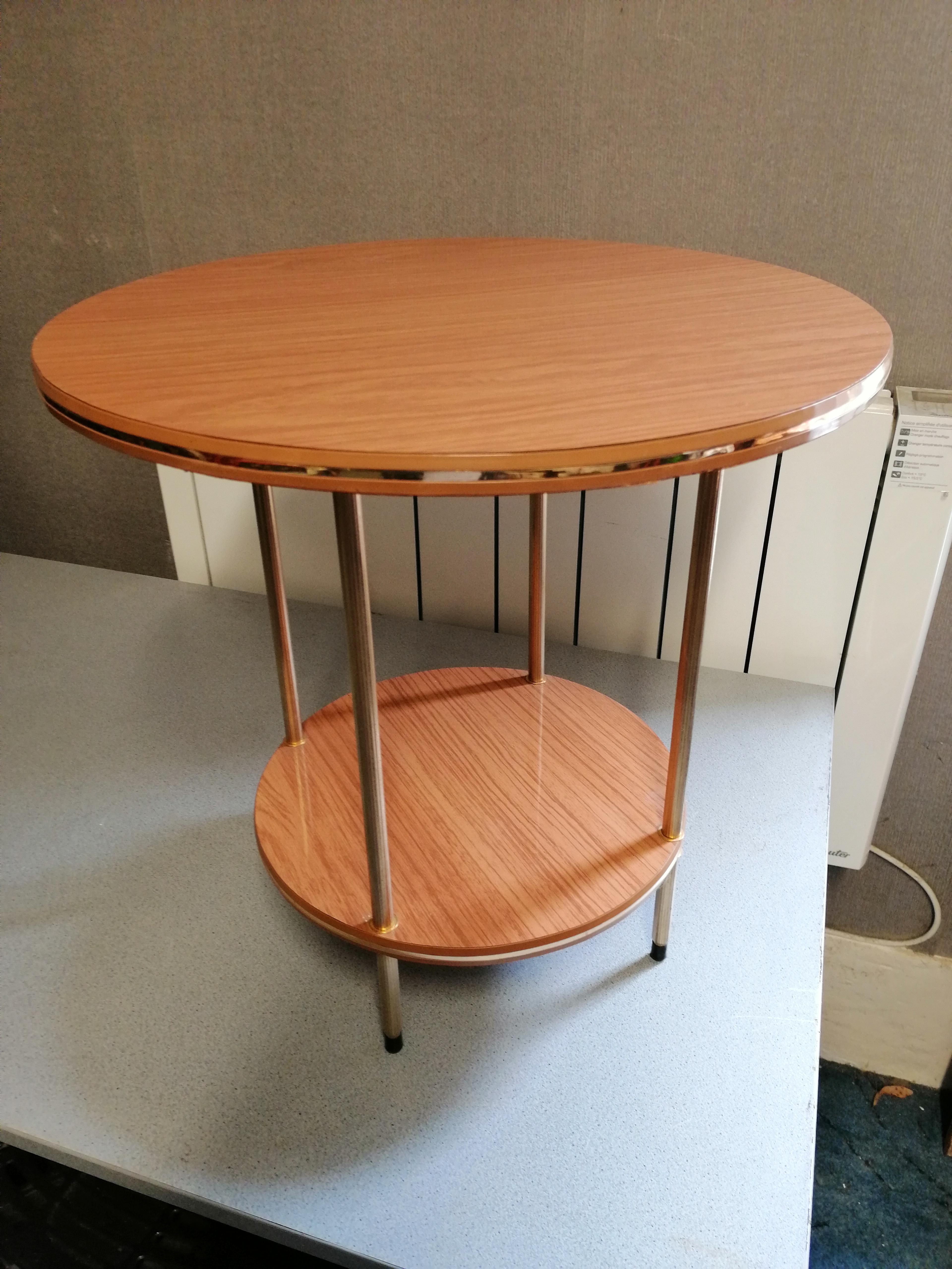 Table Basse En Formica table basse en formica - brocante chez gisele